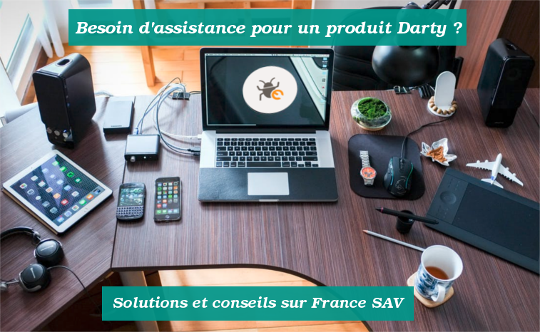 Solutions pour contacter Darty